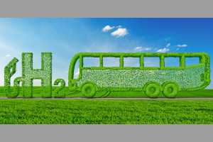 concept hydrogen propulsion in bus Bild: AdobeStock / Mike Mareen