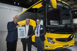 Mercedes-Benz Tourismo: Mercedes Benz Tourismo – Reisebus Bestseller gewinnt International Bus & Coach Competition (IBC) 2018. Foto: Daimler.