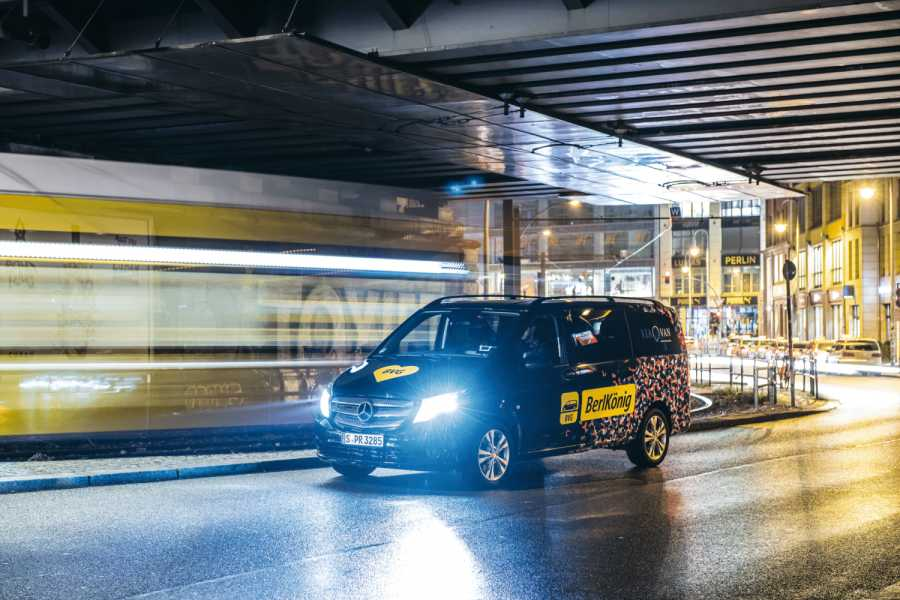 ViaVan und BVG bringen On-Demand Ridesharing nach Berlin. ViaVan and BVG join forces to bring on-Demand ridesharing to Berlin. | Bild: MediaPortal Daimler AG